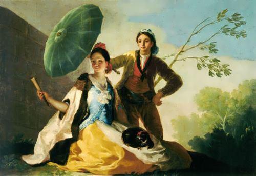 Le parasol, 1777