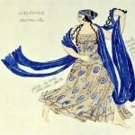 Leon Bakst. Costume design for the ballet Cleopatra