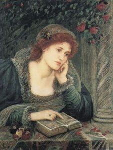 Mary Stillman. Beatrice, 1895