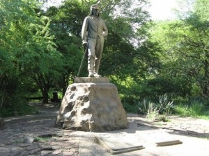 Monument to Livingstone