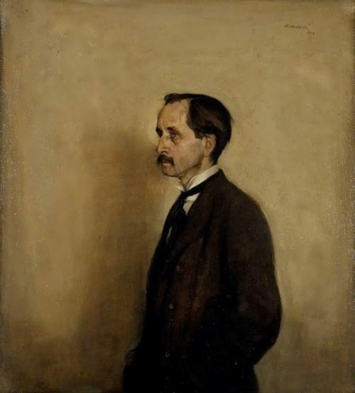 James Matthew Barrie by William Nicholson