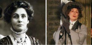 Merly Streep played the role of Emmeline Pankhurst