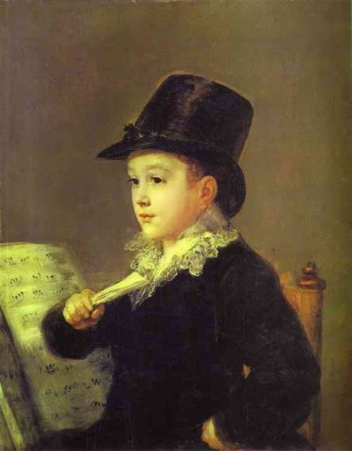 Portrait of Mariano Goya