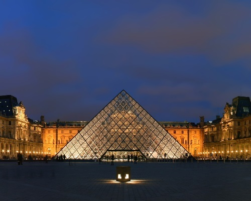 Pyramid of the Louvre