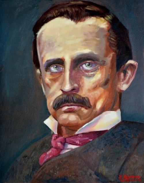 James Quinn. Portrait of J.M.Barrie