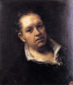 Francisco de Goya – painter to the King and to the People. Self portrait, 1815