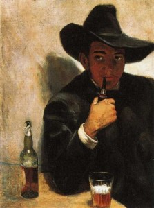 Self-portrait, 1907