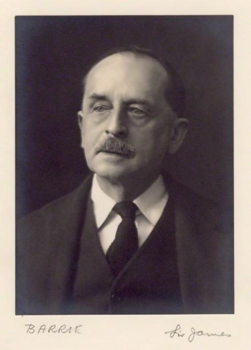 J.M. Barrie by Walter Stoneman