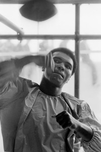 Muhammad Ali. Photo by Terry O'Neil