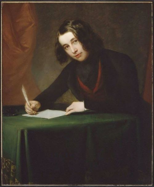 Francis Alexander. Portrait of young Dickens