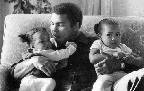 Ali and his daughters