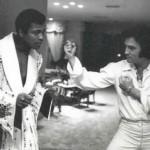Ali and Elvis Presley, 1973