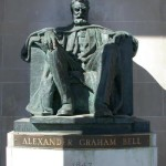 Monument to Alexander Graham Bell in Brantford