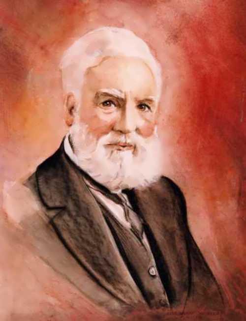 Portrait of Alexander Bell