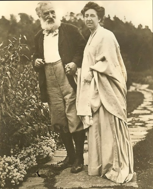 Alexander Bell and his wife