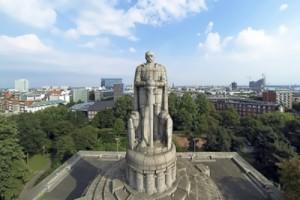 Monument to Bismarck in Hamburg