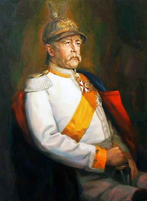 Franz von Lenbach. Portrait of Otto Eduard Leopold von Bismarck
