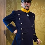 Wax figure of Otto von Bismarck