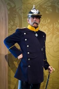 Wax figure of Otto von Bismarck