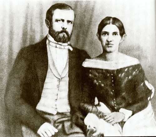 Bismarck and his wife