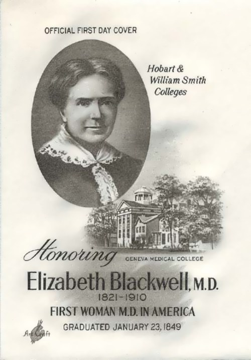 First woman M.D. in America
