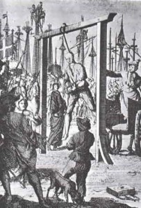 Execution of Stede Bonnet