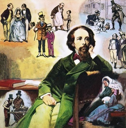 Ralph Bruce. Dickens and his characters