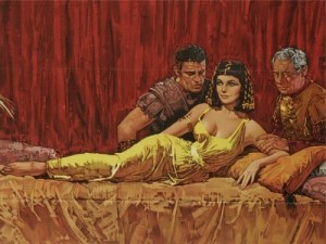 Cleopatra - beautiful Egyptian queen