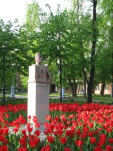 Monument to Dante in Moscow