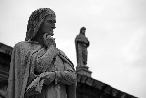 Monument to Dante Alighieri, Verona, Italy