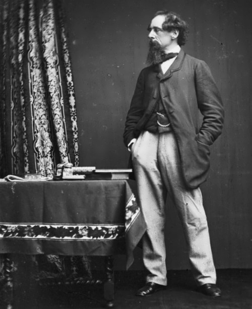 Charles Dickens, 1860 (Hulton Archive Getty Images)