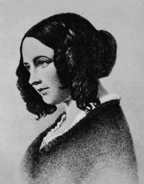 Daniel Maclise. Portrait of Catherine Dickens