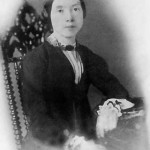 Photo of Emily Dickinson from the collection of Philip F. Gura