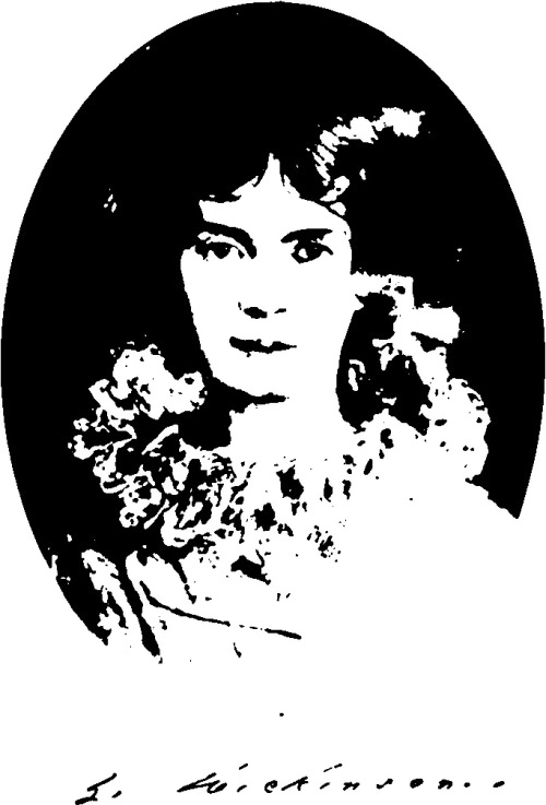 This portrait was made at the request of the poet's niece, Martha Dickinson Bianchi
