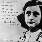 Anne Frank and her diary