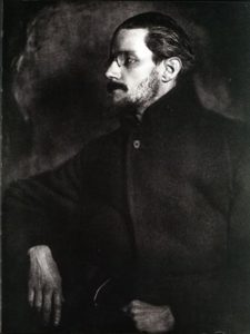 James Joyce - Irish novelist. Zurich, 1919