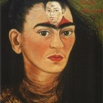 Frida Kahlo. Diego and me. Self Portrait, 1949