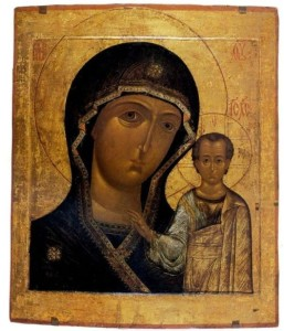 Kazan Icon of Our Lady