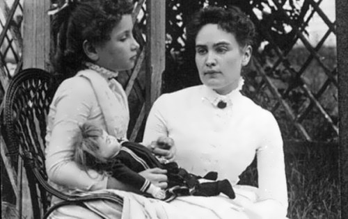 Helen and Anne Sullivan