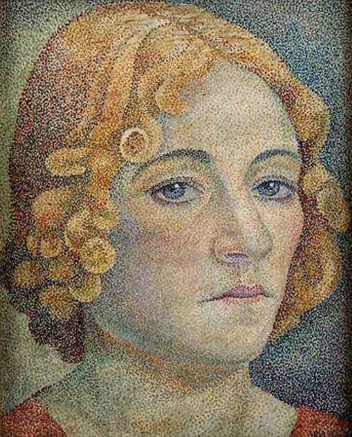 Marevna. Self-portrait, 1929