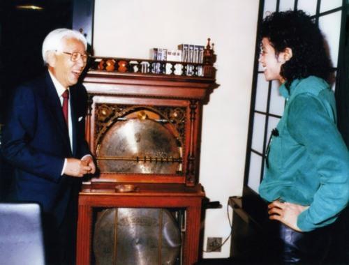 Morita and Michael Jackson