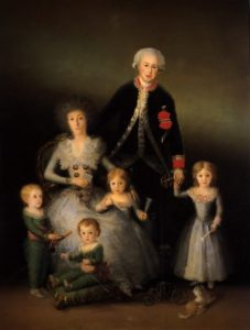 The Duke and Duchess of Osuna with children in 1789