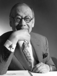 Ieoh Ming Pei – great architect