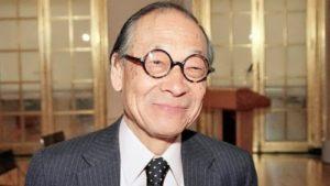 Ieoh Ming Pei – great architect
