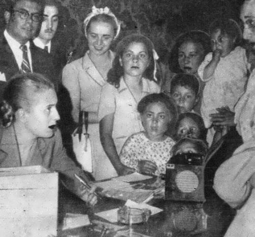 Eva with children