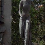 Statue of Eva Peron near Recoleta Cemetery