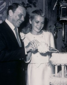 Sinatra and Mia Farrow