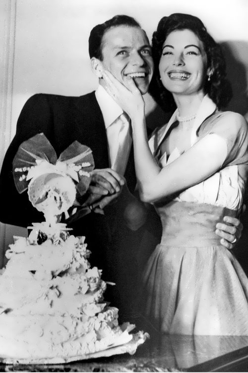 Sinatra and Ava Gardner, 1951