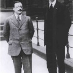 Arthur Griffith and De Valera, 1921