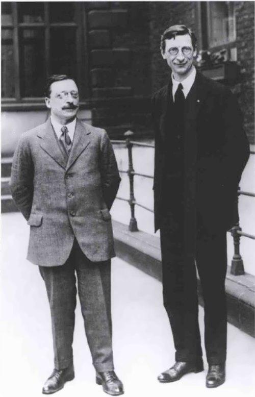 Arthur Griffith and De Valera, 1921